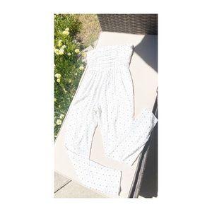 BOGOF🔥ROBERT RODRIGUEZ White Embellished Jumpsuit
